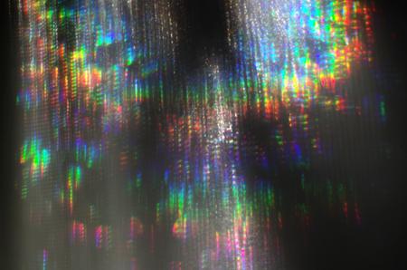 spectrum of the light in rainbow colour