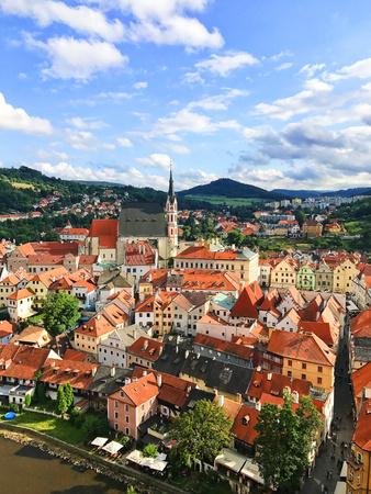 Cesky Krumlov town, Czech
