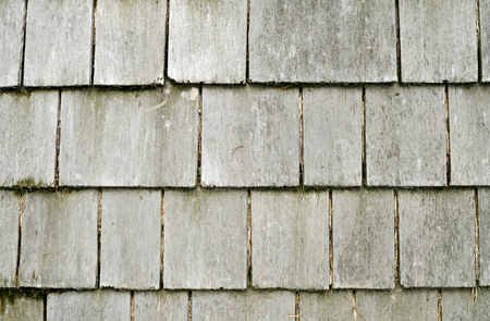 Rustic Wooden Shingles 写真素材