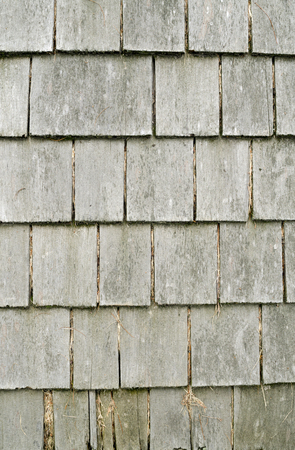 Rustic Wooden Shingles Stockfoto