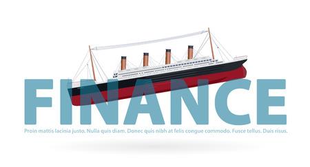titanic: Sinking Titanic in finance