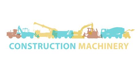 machinery: Construction machinery icon symbol