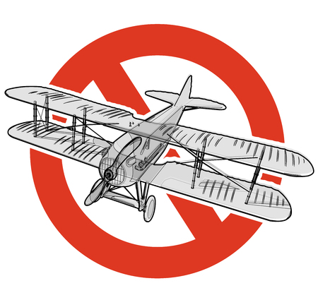 Prohibition of planes vector.