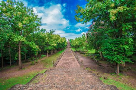 Prasat Hin Phanom Rung Historical Park at Buriram Thailand
