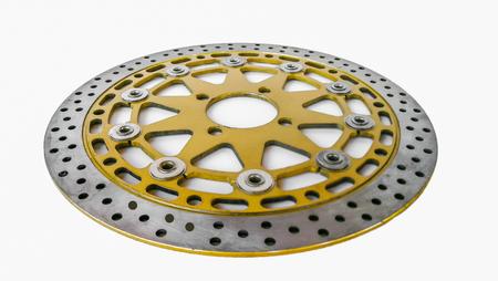 brake disc with caliper. Car brakes Stock Photo