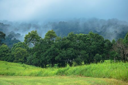 Mountain in Nakhon Ratchasima Province of Thailand Stock Photo