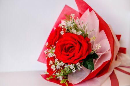 Beautiful rose flower in garden. Rose flower background. Roses flower texture. Lovely rose. Roses flower pattern. Roses flower bouquet. Garden rose. Red rose. copyspace