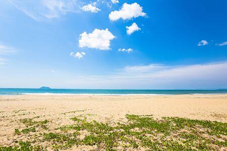 Sea wave foam on Karon beach Phuket Thailand. Exotic paradise of Thailand beach Asia. Peaceful ocean wave at beach. Perfect resort for relax. Ocean wave. Sea waves on beach. Sea beach Stock fotó