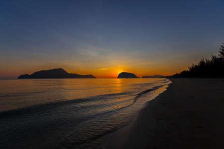 Beautiful sunset Baltic Sea. Painting Sea sunset. The sea at sunset. Amazing sea sunset. Sunset sea waves. Summer Sunset. Beautiful seascape evening sunset sea and sky horizon
