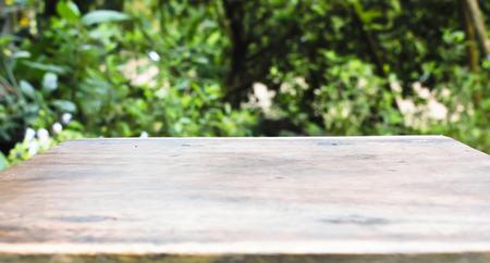 Wood table corner