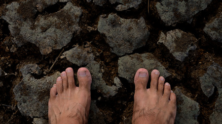 waterless: Two feet of hope