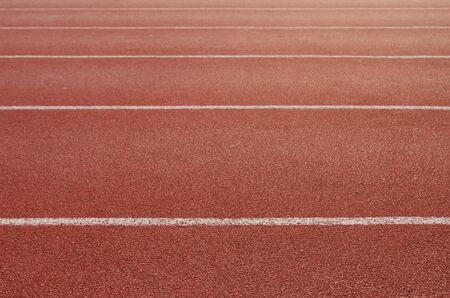Athlete Track or Running Track with nice scenic Archivio Fotografico