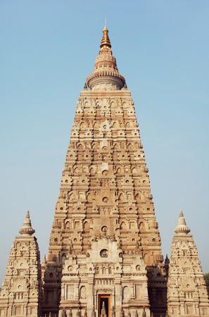 Mahabodhi Temple, Bodh Gaya, India 1