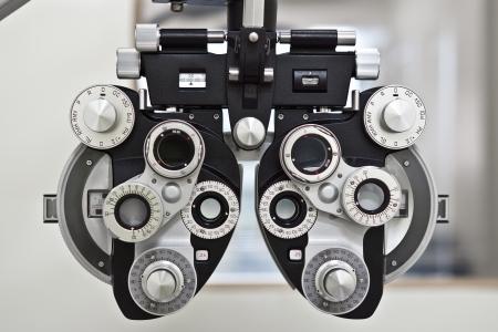 eye care: phoropter