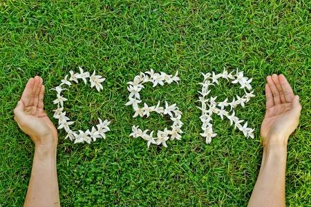 csr: RSE - Responsabilidad Social Empresarial Foto de archivo