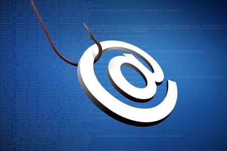 phishing: Phishing e-mail                             Stock Photo