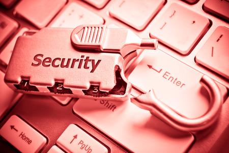 find similar images:   Save to a Lightbox   9660;    Find Similar Images    Share   9660; broken security lock on computer keyboard