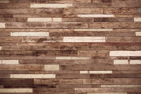 big wood plank wall / wood wall background Archivio Fotografico