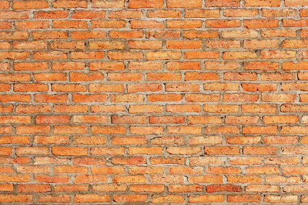 red clay: red clay brick wall background