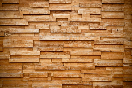 layers of wood plank wall