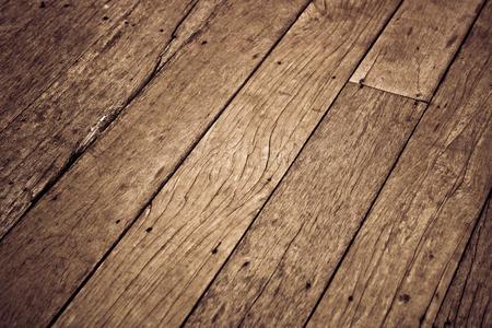 Holzdielenboden Standard-Bild