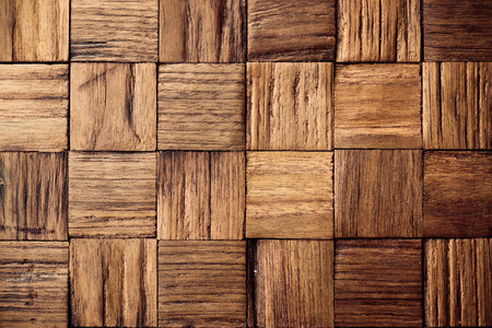 teak wood texture with square box pattern