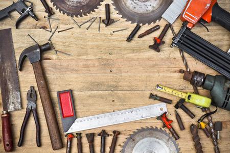 carpintero: Vista superior de un carpintero \