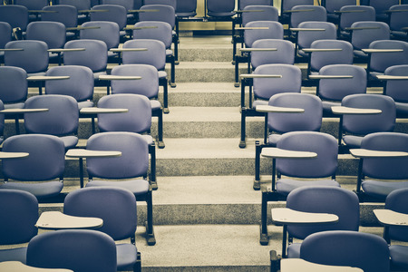 lecture: Lecture chairs in a class room