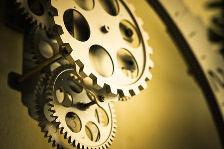 cogwheel: cogwheel with yellow tone