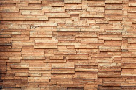 capas de la pared de tablones de madera Foto de archivo
