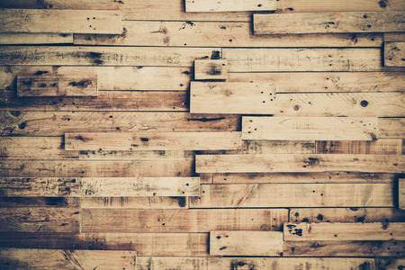 parquet floor layer: old and dirty wood planks arranged as a wall background Stock Photo