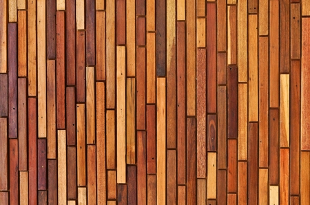 parquet floor layer: big brown wood plank wall Stock Photo