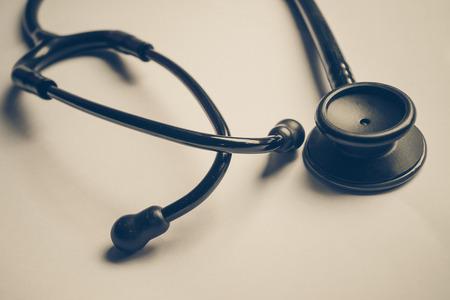 stethoscope isolated on white background: stethoscope