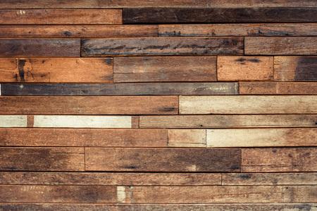 old wood plank wall background Foto de archivo