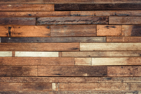 wood plank: old wood plank wall background Stock Photo