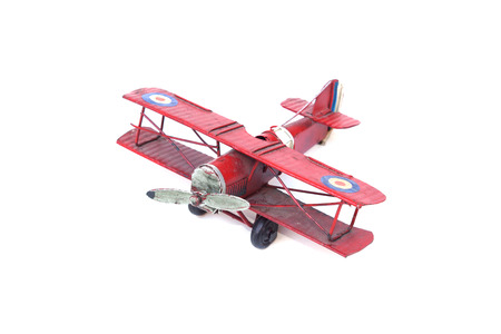 old plane: old plane toy isolated