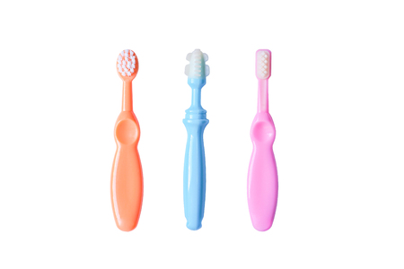 Different types of toothbrush for young baby
