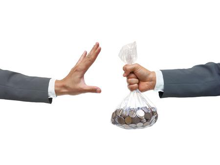 immoral: Stop corruption  No corruption