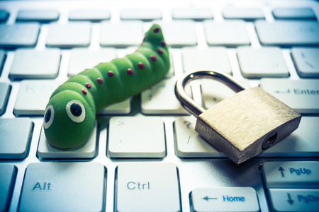 computer security breach due to worm attack