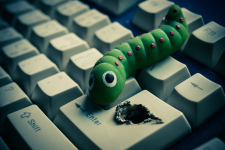 backdoor: computer security breach due to worm attack