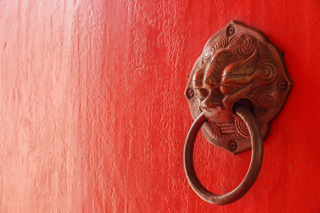 door knob: Chinese door knob