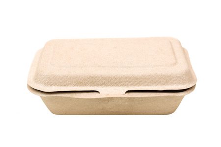 degradable: food box made of paper