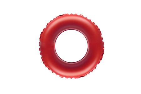 float tube: red lifesaver for kid