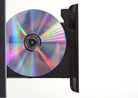 optical disk: Optical disc reader isolated