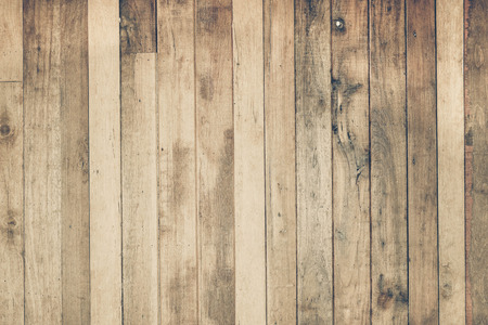 Wood plank wall background for design and decoration Standard-Bild