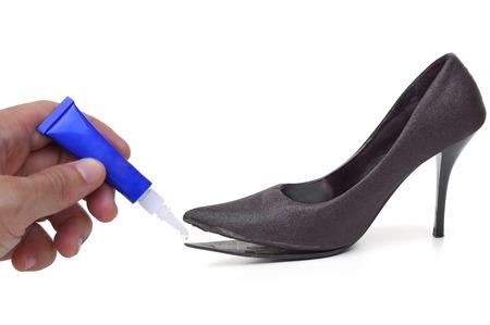 Super glue for fixing broken things Reklamní fotografie