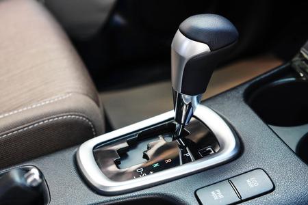 Car automatic gear Stock Photo