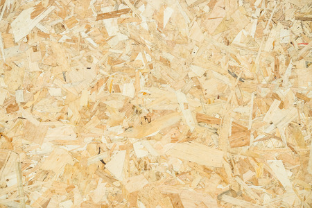 Wood texture. Osb wood board for background decoration Standard-Bild