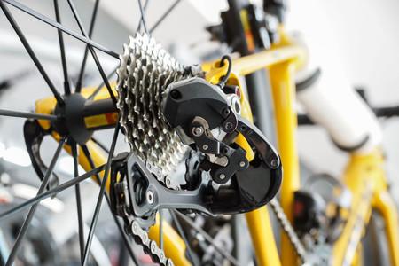 Road bike gear components