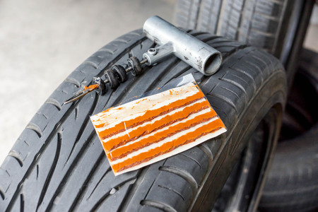 Tubeless Tire Puncture Repair Kit for Car and Bike